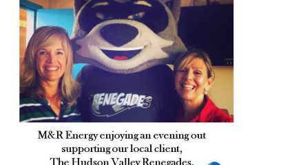 M&R Energy Supports The Hudson Valley Renegades