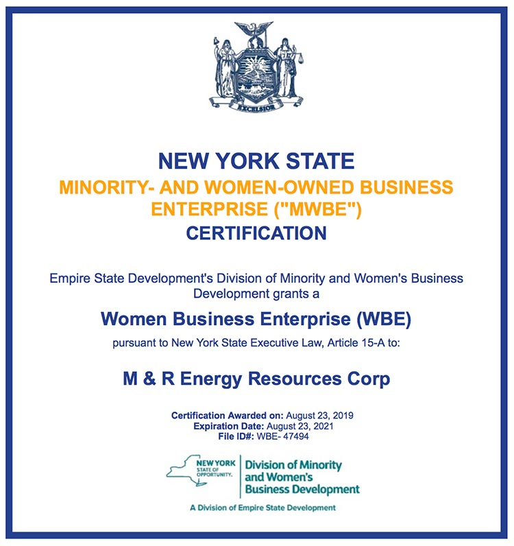 NY State Minority- and Women-Owned Business